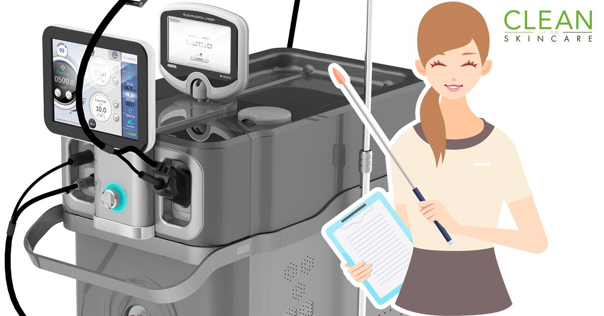 CLEAN Blog - 激光療程如何整走面上既紅血絲