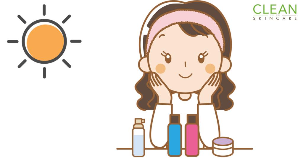 CLEAN Bloog - 化妝品含既防曬足夠抵擋紫外線