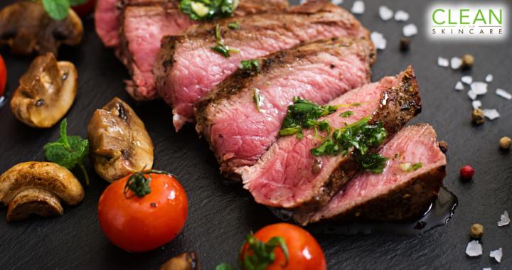 CLEAN Blog - 食得多牛肉會影響皮膚嗎?