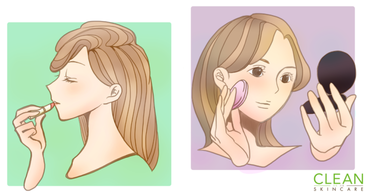CLEAN Blog - 化妝會影響暗瘡印嗎?