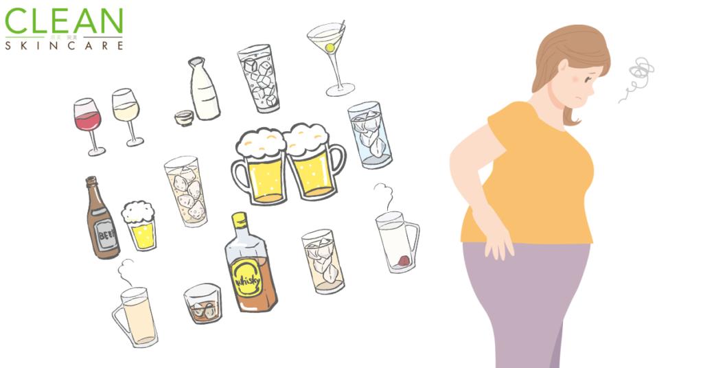 CLEAN Blog - 點解越飲高濃度既酒會容易肥胖?
