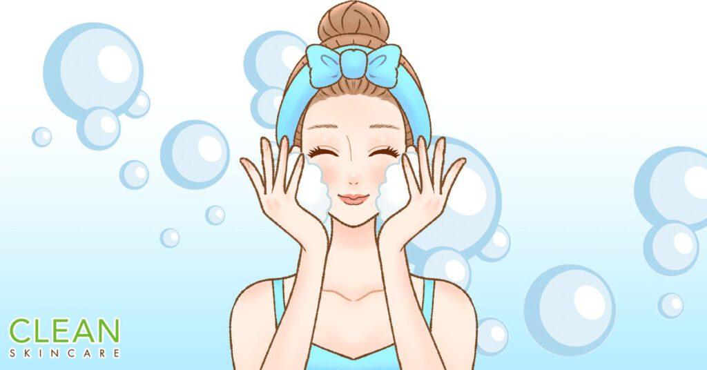 CLEAN Blog - 經常係潔面產品見到既起泡劑對皮膚安全嗎?