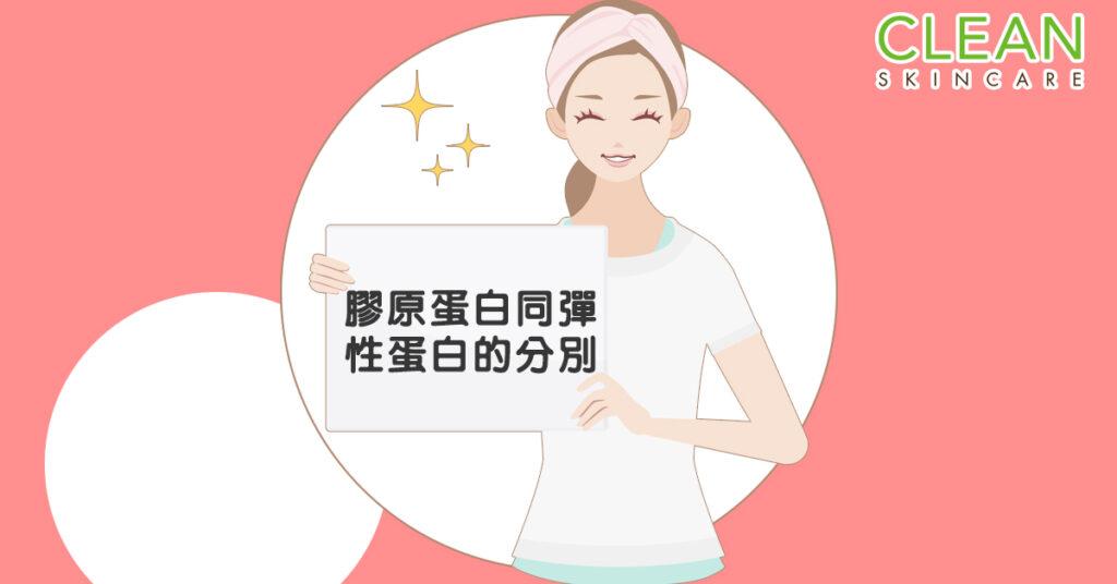 CLEAN Blog - 膠原蛋白同彈性蛋白嘅分別