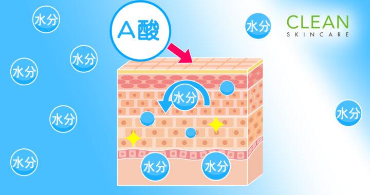 Ok CLEAN Blog - A酸會增加皮膚底層既保濕能力