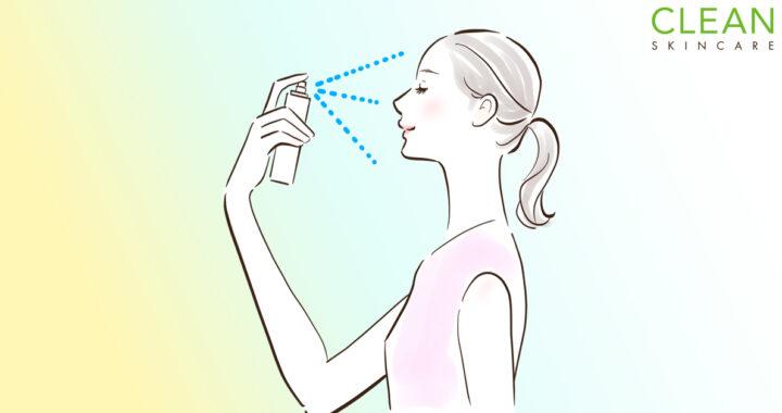 CLEAN Blog - 定妝噴霧Setting spray係咩黎?